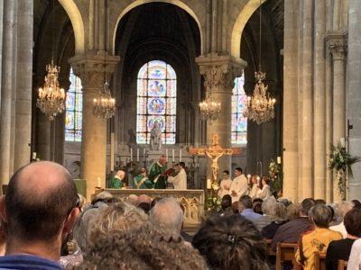 Messe d'installation comme curé du P. Matthieu berger