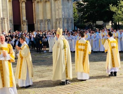 Ordination diaconale de Mathieu Bocquet